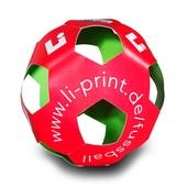 Fußball aus Karton