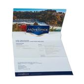 3D Pop-up Karte A5 6-seitig - Einladungskarte