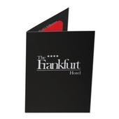 Deckelmappe - Keycard Hotelmappe