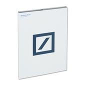 Mappe Deutsche Bank aus Craft-Karton