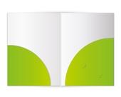 2-Taschen-Mappen rund