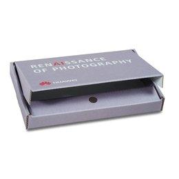 Fotobox mit Magnetverschluss - Druckerei Lindner steht für: Ordner bedrucken, Ringordner bedrucken, Ringbücher bedrucken, Firmenordner bedrucken