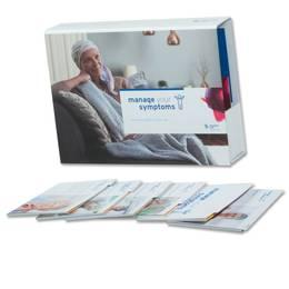 Einschubbox mit Registermappen und Powerbank-Banderole - Druckerei Lindner steht für: Ordner bedrucken, Ringordner bedrucken, Ringbücher bedrucken, Firmenordner bedrucken