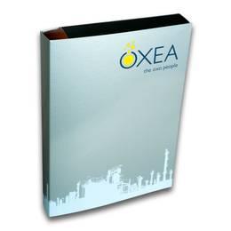 Box-Mappe mit Magnetverschluss - Druckerei Lindner steht für: Ordner bedrucken, Ringordner bedrucken, Ringbücher bedrucken, Firmenordner bedrucken
