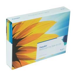 Einschubbox mit Registermappen - Druckerei Lindner steht für: Ordner bedrucken, Ringordner bedrucken, Ringbücher bedrucken, Firmenordner bedrucken