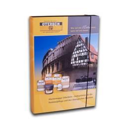 Mustermappe/Sample Book mit Schaumstoffeinlagen - Druckerei Lindner steht für: Ordner bedrucken, Ringordner bedrucken, Ringbücher bedrucken, Firmenordner bedrucken