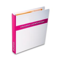 Gesundheitsordner - Brustkrebs - Ordner - Klassische Ordner für Ihren Firmenauftritt