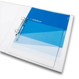 Ordner - Register für Praktikanten - Ordnerproduktion im Hause Lindner