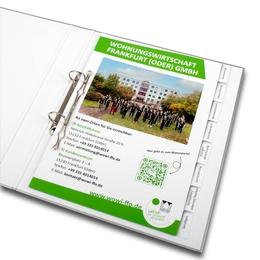 Ordner - Register für Hausverwaltungsunternehmen - Ordnerproduktion im Hause Lindner