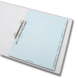 Ordner - Register für Verträge - Ordnerproduktion im Hause Lindner