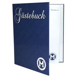 Gästebuch - Druckerei Lindner steht für: Ordner bedrucken, Ringordner bedrucken, Ringbücher bedrucken, Firmenordner bedrucken