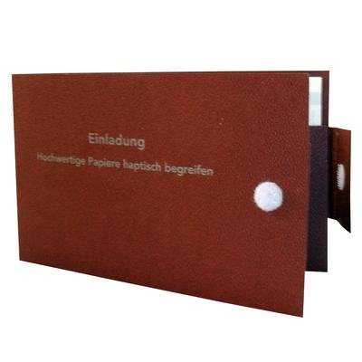 Portemonnaie-Mappe - Kreative Drucksachen - prägnant, wirksam, emotional