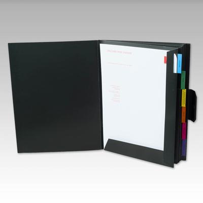 Unternehmensmappe mit Fächersystem - Kreative Drucksachen - prägnant, wirksam, emotional