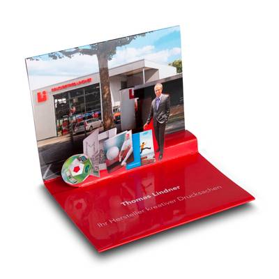 3D Pop-up Karte mit Magnetverschluss - Kreative Drucksachen - prägnant, wirksam, emotional