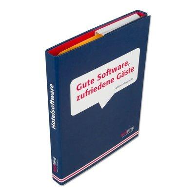 Einschubbox - Mappe mit Einschub - Druckerei Lindner steht für: Ordner bedrucken, Ringordner bedrucken, Ringbücher bedrucken, Firmenordner bedrucken