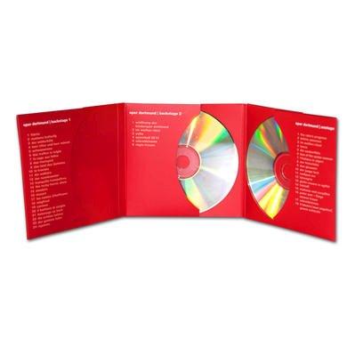 CD/DVD-Mappe 6 Seiten - Kreative Drucksachen - prägnant, wirksam, emotional