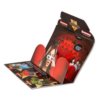 3D Mailing DIN lang mit Drehrad - Selfmailer - Kreative Drucksachen - prägnant, wirksam, emotional