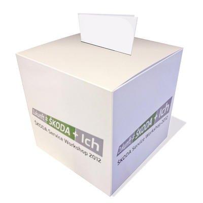 Gewinnspielbox - Hardcover - Kreative Drucksachen - prägnant, wirksam, emotional