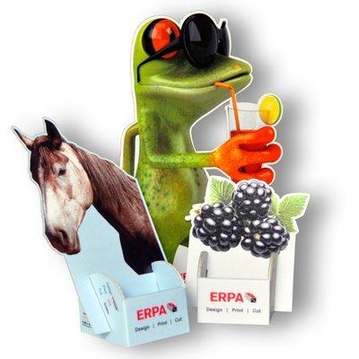 Display - Aufsteller - Druckerei Lindner steht für: Kreative Drucksachen drucken, 3D -Pop-ups drucken,  Effektkarten drucken, Magic-Flyer drucken,Aufsteller drucken