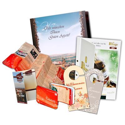 Drucksachen für Ihr Hotel  - Kreative Drucksachen - prägnant, wirksam, emotional