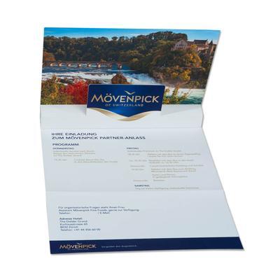 3D Pop-up Karte A5 6-seitig - Einladungskarte - Kreative Drucksachen dienen auch als Beratungsunterstützung und Produkterklärung