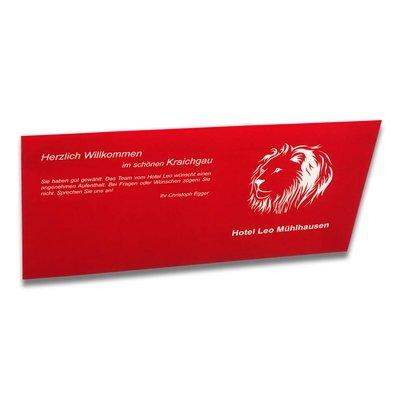 Briefumschlag DIN lang mit Haftstreifen - Kreative Drucksachen - prägnant, wirksam, emotional