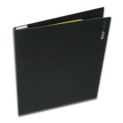 Deckelmappe mit Li4doit Magnetklemme - Kreative Drucksachen - prägnant, wirksam, emotional