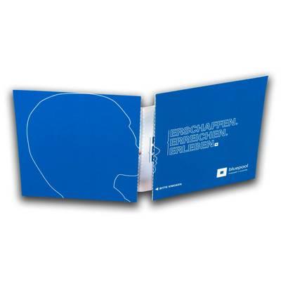 Maxi-Postkarte Sandwich mit integriertem Brief  - Kreative Drucksachen - prägnant, wirksam, emotional
