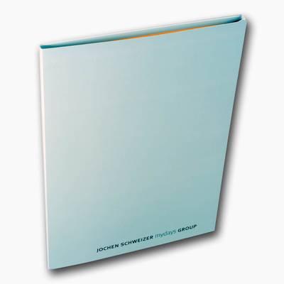Präsentationsmappe passend für DIN A4 - Kreative Drucksachen - prägnant, wirksam, emotional