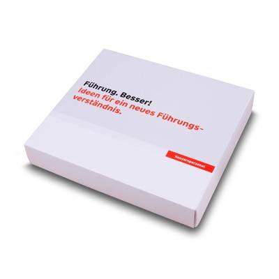 Stülp-Faltschachtel - Verpackung - Kreative Drucksachen - prägnant, wirksam, emotional