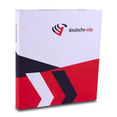 Firmenordner mit Kartontasche - Mit unseren kreativen Drucksachen heben Sie sich von Ihren Wettbewerbern ab!
