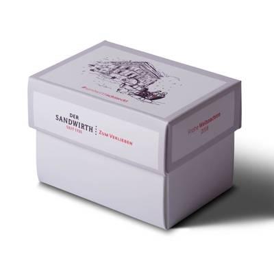 Stülpschachtel - Geschenkbox klein - Individuelle Kreativprodukte beim Hersteller drucken lassen