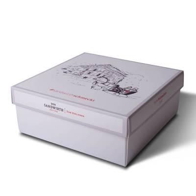 Stülpschachtel - Geschenkbox groß - Kreative Drucksachen - prägnant, wirksam, emotional