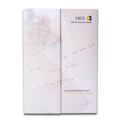 Taschen Mappe mit Einsteckschlitzen und Klappe - Kreative Drucksachen - prägnant, wirksam, emotional