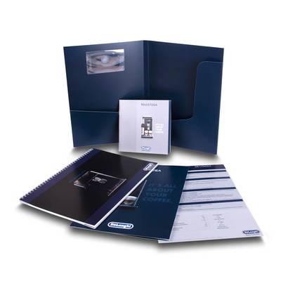Angebotsmappe mit umfangreicher Ausstattung - Ihr Mappenhersteller mit PREMIUM-RUNDUM-SERVICE