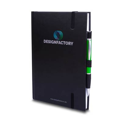 Notizbuch mit Wende-Effekt - Kreative Drucksachen - prägnant, wirksam, emotional