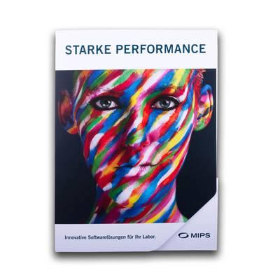 Präsentationsmappe mit  abgerundeter Ecke - Kreative Drucksachen - prägnant, wirksam, emotional
