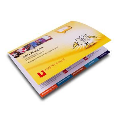 Broschüre mit Registerstanzung DIN A5