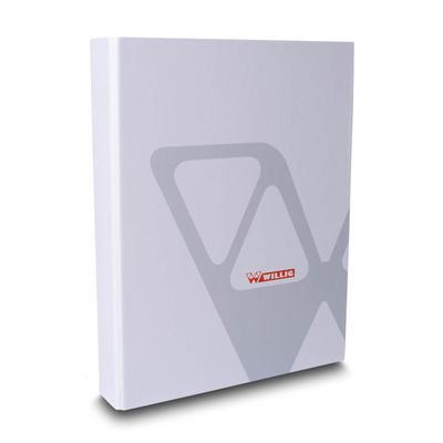 Präsentationsordner mit Klettverschluss und Kartontasche - Für Ihr individuelles Ringbuch senden Sie uns einfach eine Anfrage