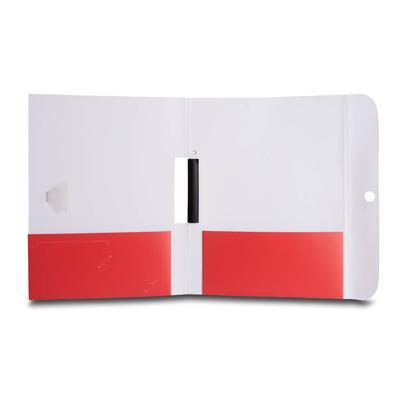 Doppeltaschen Mappe mit Stifthalter-Verschluss und Schwingklemme - Ihr Mappenhersteller mit PREMIUM-RUNDUM-SERVICE