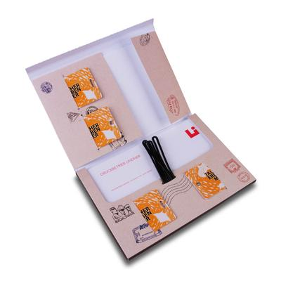 Versandmappe für Reiseunterlagen - Kreative Drucksachen - prägnant, wirksam, emotional