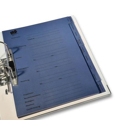 Register mit Unterregister - Kreative Drucksachen - prägnant, wirksam, emotional