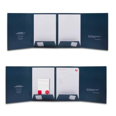 Steuerberater Mappe 8-seitig - Kreative Drucksachen - prägnant, wirksam, emotional