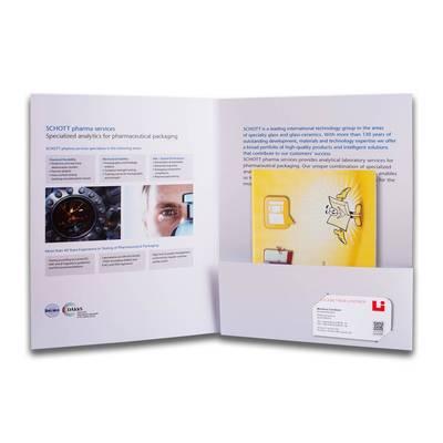 Angebotsmappe - Kreative Drucksachen - prägnant, wirksam, emotional