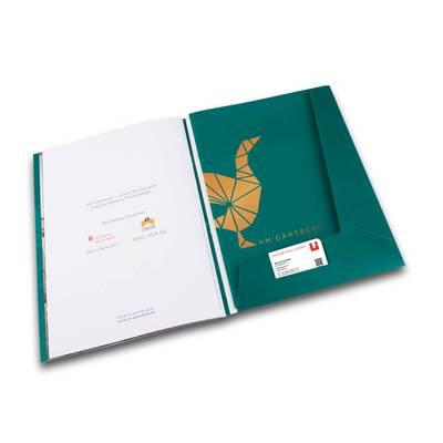 Immobilienexposé - Broschürenmappe - Kreative Drucksachen - prägnant, wirksam, emotional