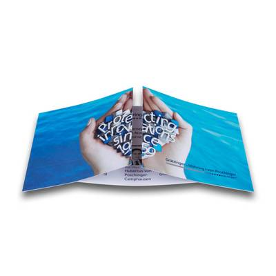Endless card im DIN lang Format - Lindner steht für Beratung - Kreation - Veredelung - Druck - Konfektionierung