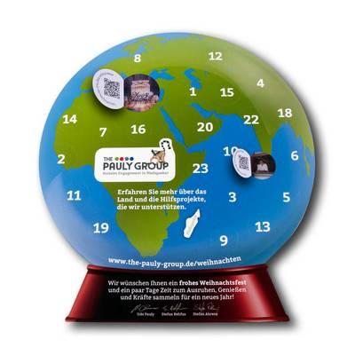 Adventskalender als Aufsteller - Lindner steht für Beratung - Kreation - Veredelung - Druck - Konfektionierung