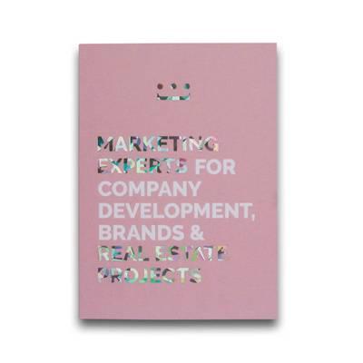 Klappkarte mit Heißfolienprägung - Kreative Drucksachen - prägnant, wirksam, emotional