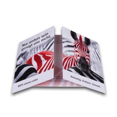 DIN A5 Endlosflyer - Kreative Drucksachen - prägnant, wirksam, emotional