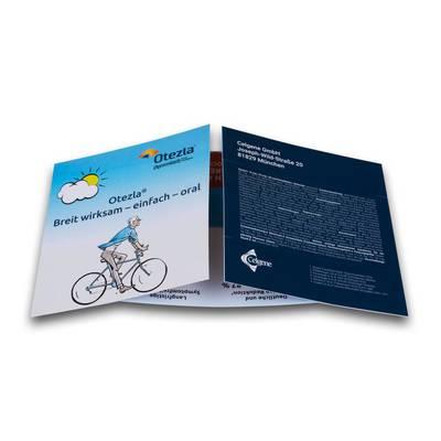 Magic Flyer - Jubiläumskarte - Lindner steht für Beratung - Kreation - Veredelung - Druck - Konfektionierung